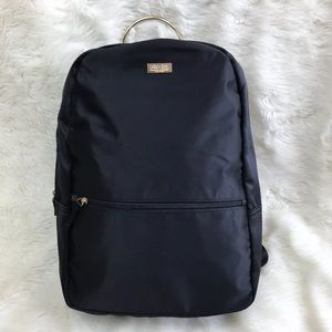 Carolina Herrera Good Girl Backpack Black Satin